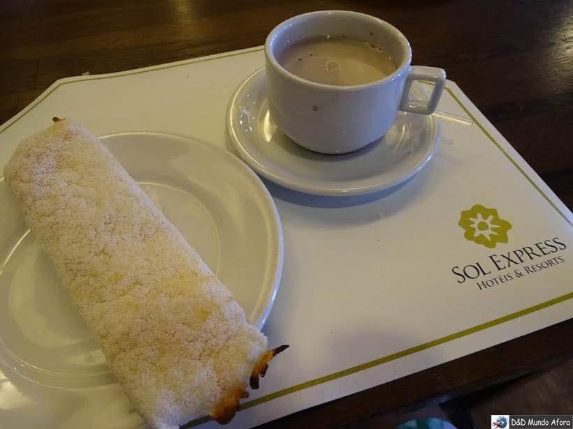 Café da manhã - Onde ficar em Salvador (Bahia) - review Gran Hotel Stella Maris Resort