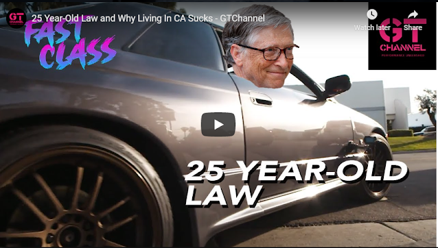 25 Year-Old Law and Why Living In CA Sucks - GTChannel