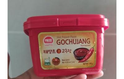sos gochujang korea pedas manis