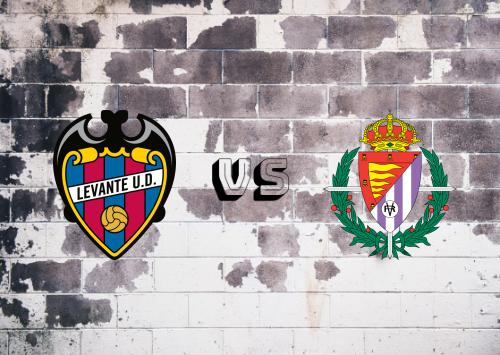 Levante vs Real Valladolid  Resumen