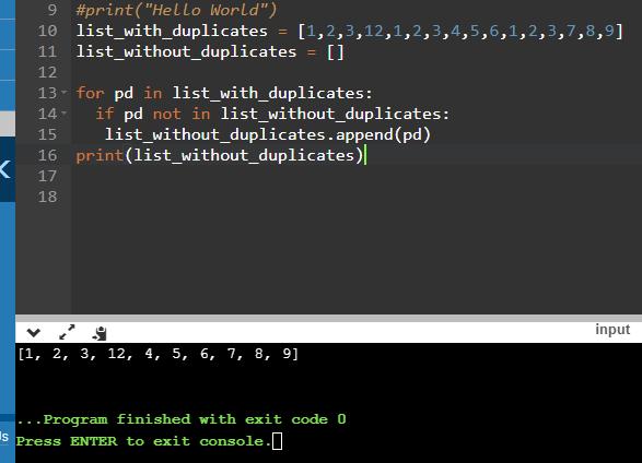 Idea 1:  Remove Duplicates Using Append.