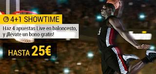 bwin promocion 4+1 Showtime apuesta gratis por jugar 13-30 abril