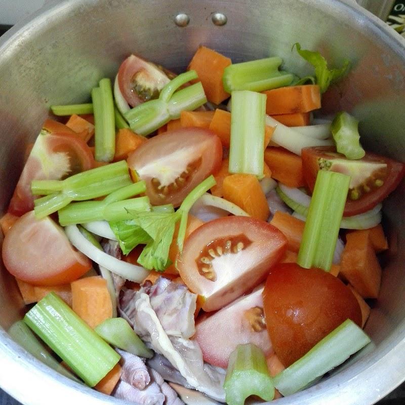 Resepi Chicken Bone Broth untuk Sup Bayi