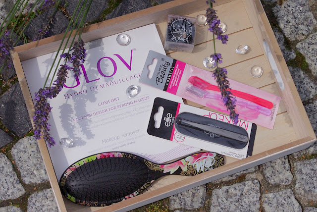 glov, wet brush, salon elite, invisibobble