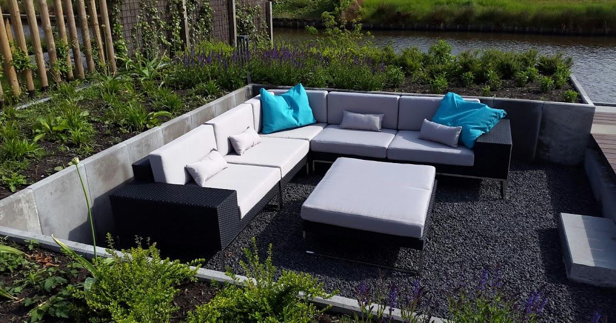 Arbrini design tuinmeubelen for Zelf loungeset maken