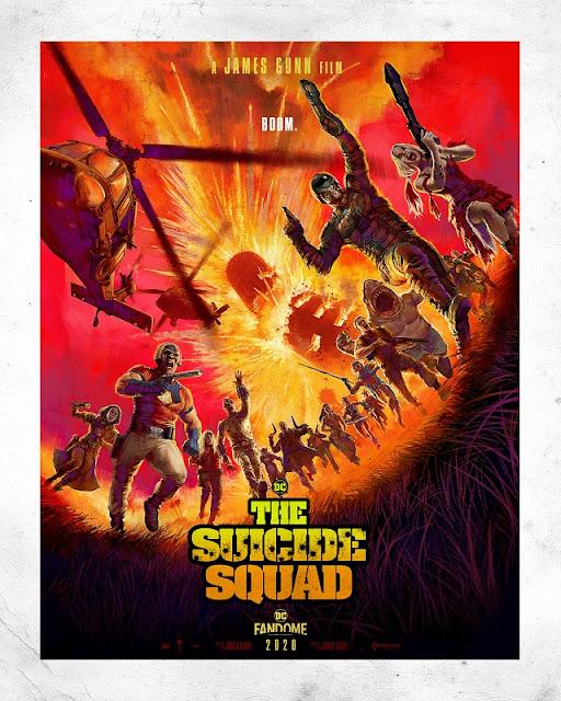 Poster Suicide Squad DC Fandome 2020