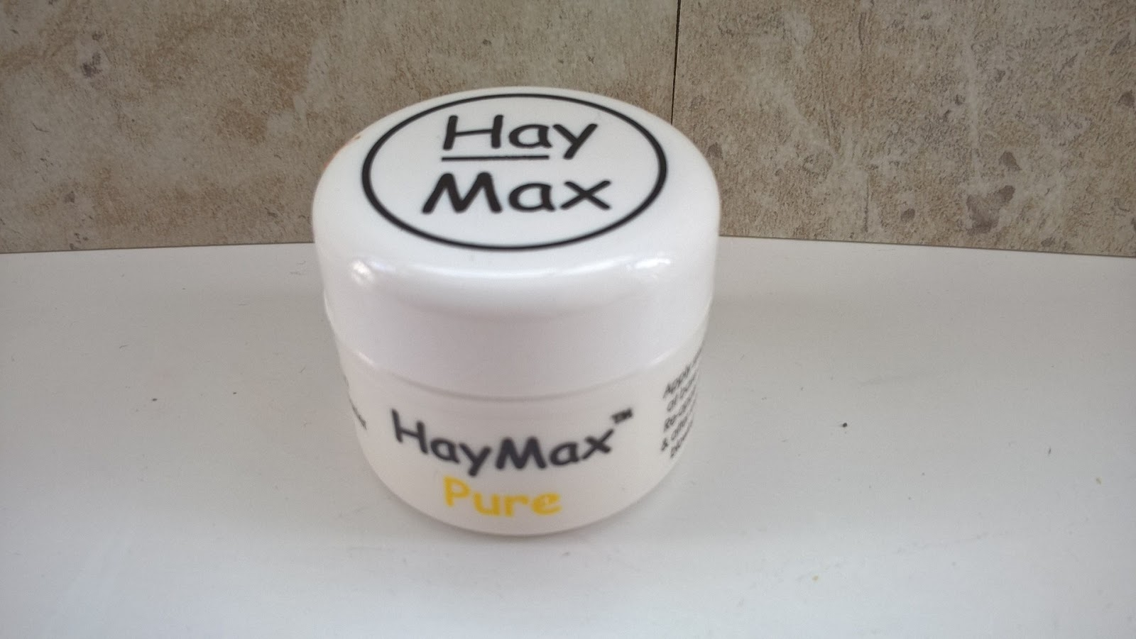 HayMax Organic Drug-Free Allergen Barrier Balm Pure - Hayfever Relief - motherdistracted.co.uk