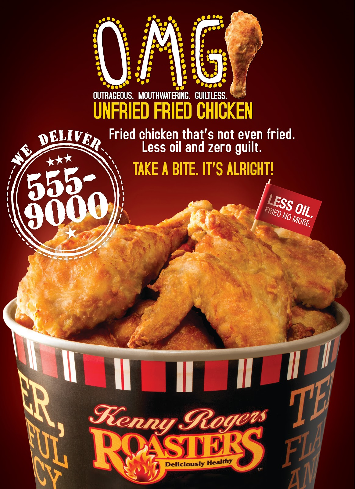 Try this best fried you've never tried! Kenny Rogers' OMG ...