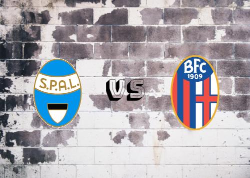 SPAL vs Bologna  Resumen
