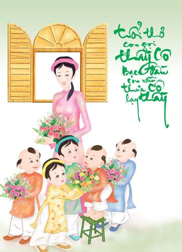 Ảnh đẹp - Ảnh thiệp chúc mừng ngày nhà giáo 20-11 tuyệt đẹp   Diễn đàn phụ nữ