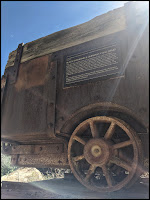Black Diamond and Oliphant Coal Mining Cart