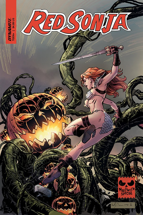 Red Sonja Halloween Special