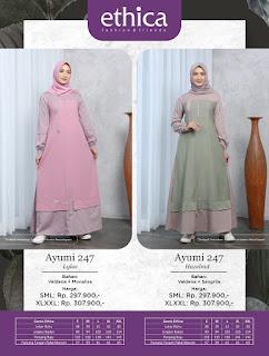 Koleksi Baju Muslim Modern Terbaru ETHICA Ayumi 247