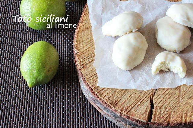 TOTÒ SICILIANI AL LIMONE RICETTA (conosciuti anche come biscotti tetù taitù tatù catalani bersaglieri)