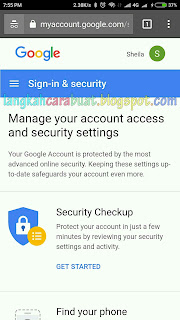 Cara Ganti Kata Sandi Akun Google Menggunakan HP Lengkap Dengan Gambar
