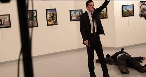 Russian Ambassador Assassinated Live On Video
