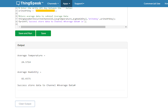 Analisa data thingspeak dengan matlab analysis
