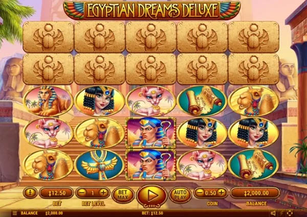 Main Gratis Slot Indonesia - Egyptian Dreams Deluxe Habanero
