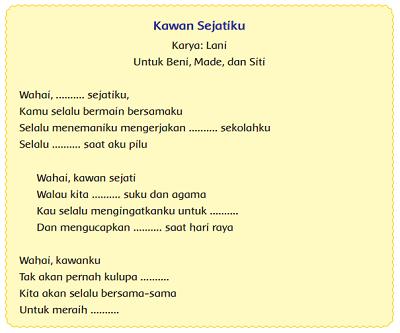 puisi Kawan Sejatiku karya lani www.simplenews.me