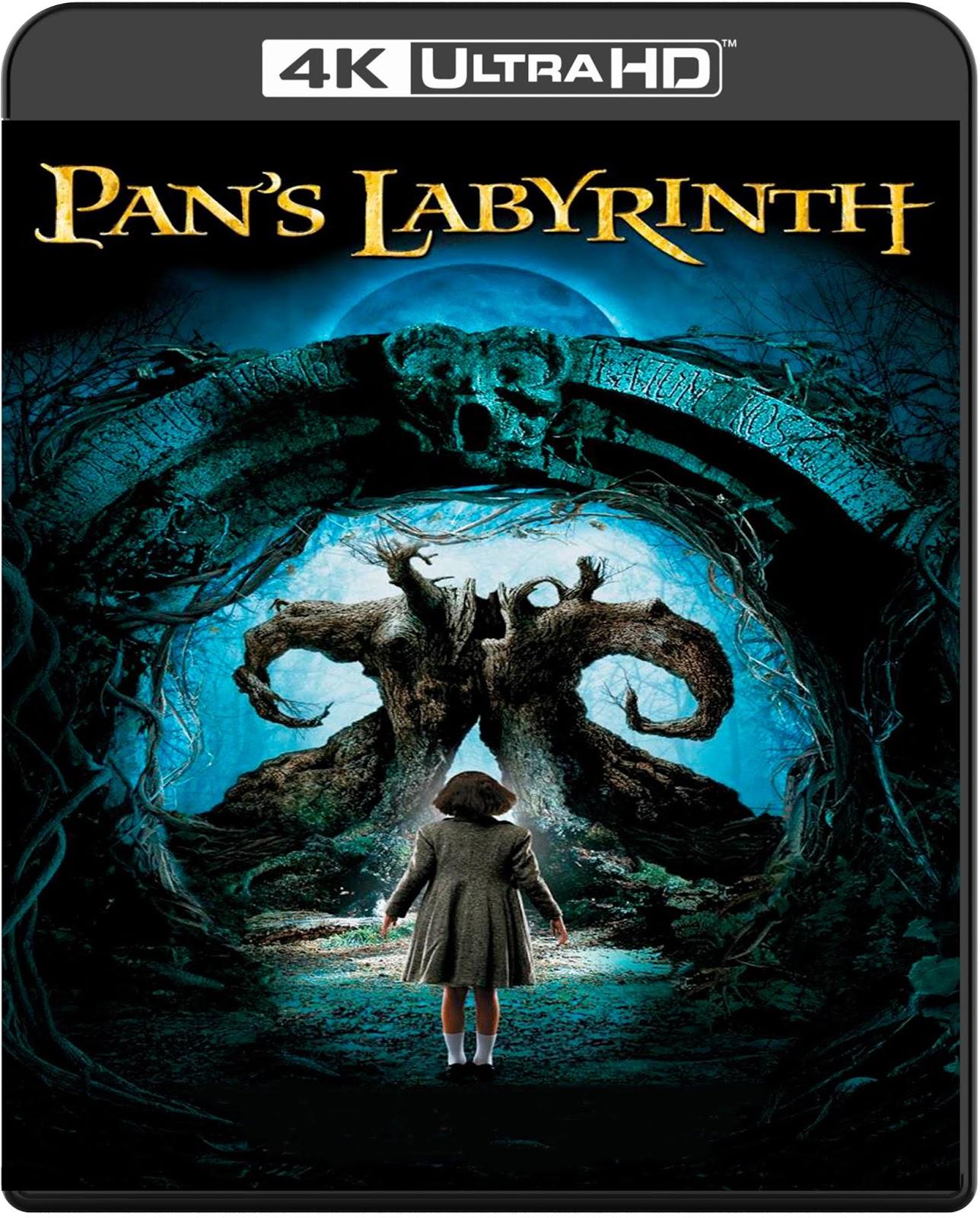 El laberinto del fauno [2006] [UHD] [2160p] [Español]