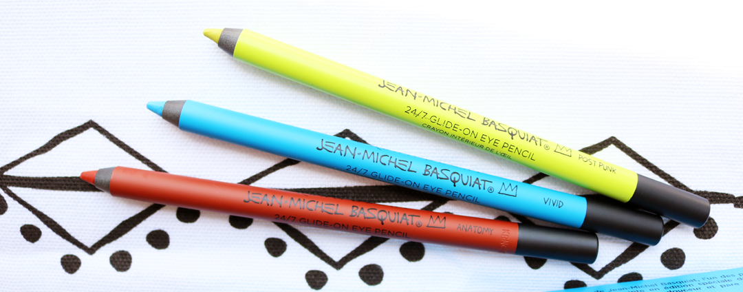 Urban Decay x Jean-Michel Basquiat 24/7 Glide on Eye Liners review