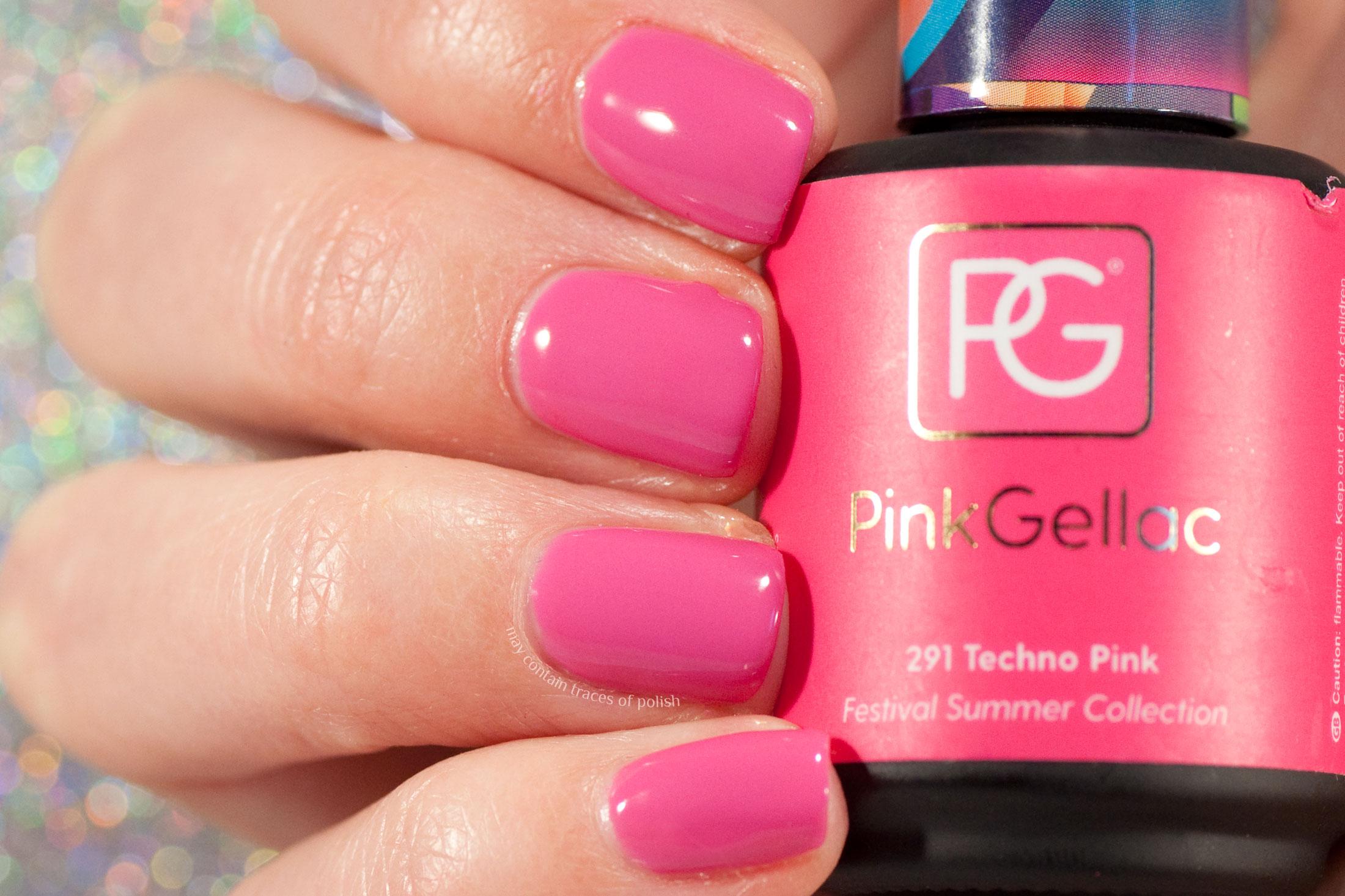 Pink Gellac 291 Techno Pink