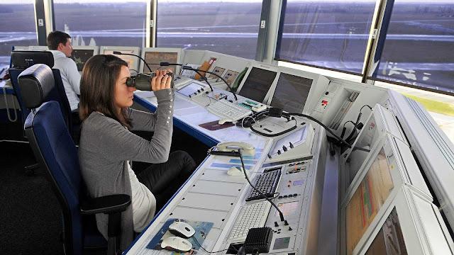 اوسبيلدونغ مراقب الحركة الجوية راتب 7000 يورو