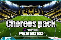 Choreo Pack for Stadium Server - PES 2020