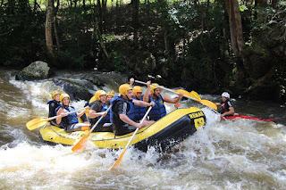 Rafting di Ubud