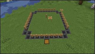 Minecraft 花の刈り取り場
