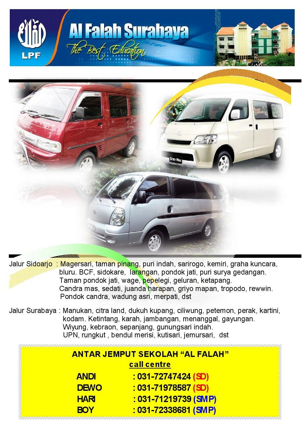 Solusi Tepat Transportasi Sekolah Di Al Falah Surabaya