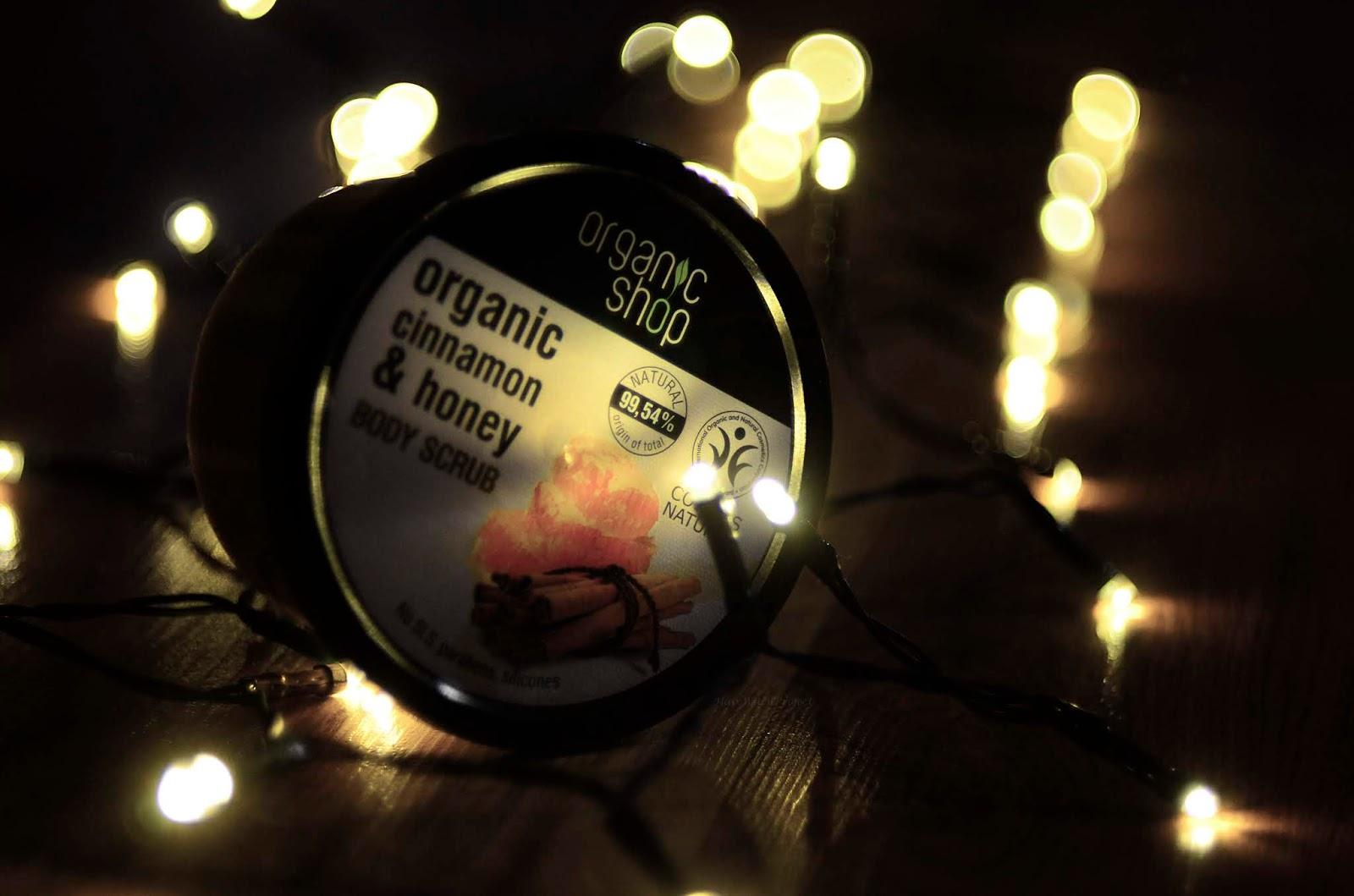 kosmetyki | organic | organic shop | ciało | peeling | cynamon | miód