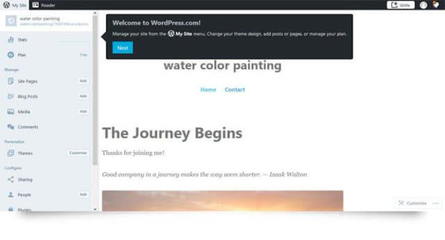 Create Free WordPress Website