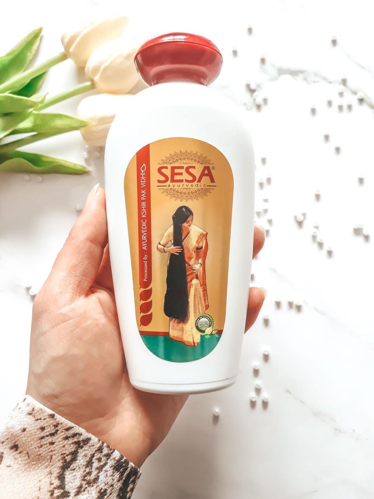 Olejek Sesa a wpływ na długość włosów