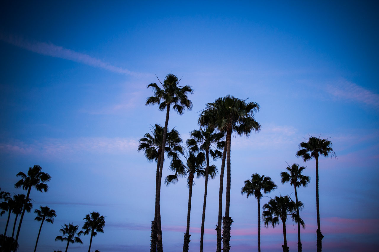 The most beautiful sunset - part 2 - Long Beach - California - Travel Blogger