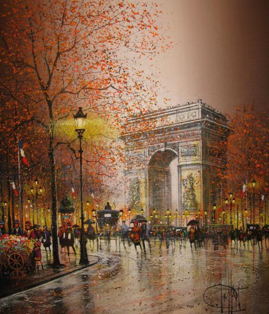 Impressionism Paris: Guy Dessapt 1938 ~ Paris Autumn