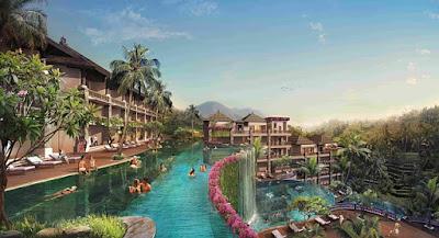 Menginap di Hotel mewah di Bali