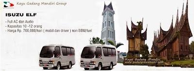 KGM Rental Isuzu Elf Padang