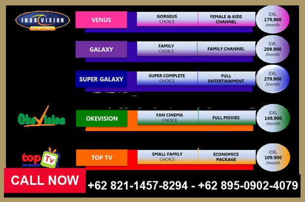 Biaya Pasang Indovision, MNC Vision 2018 – 0895-0902-4079