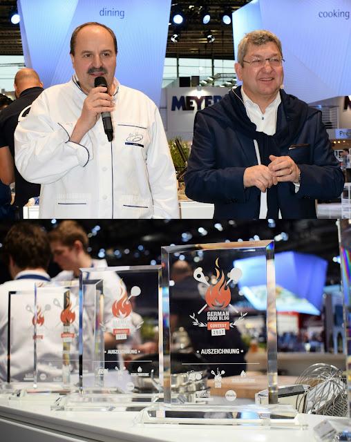 Beim GFBC 2017: Koch Johann Lafer und ELO-Geschäftsführer Marcus Grünewald