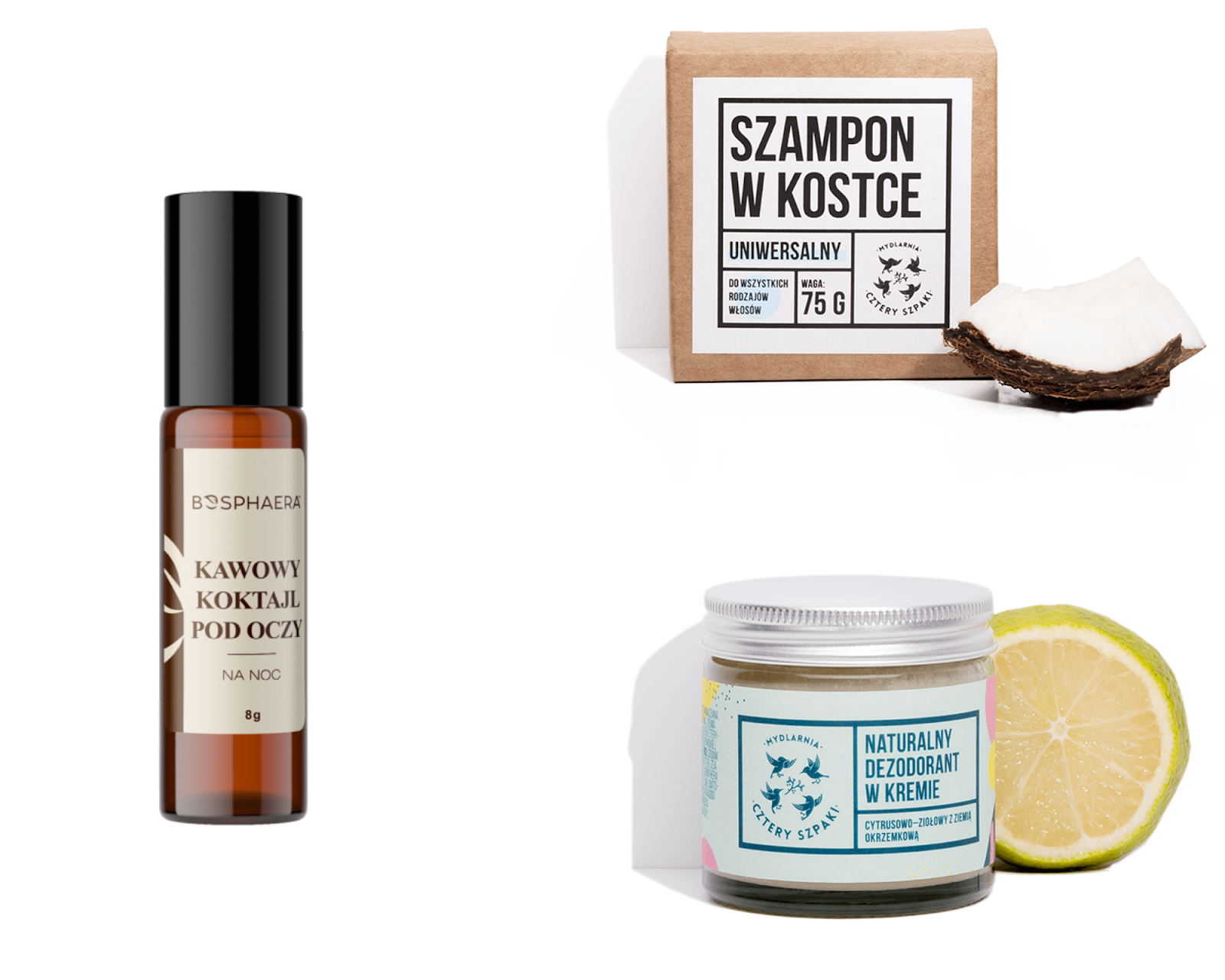 3 kosmetyki naturalne, które chcę poznać