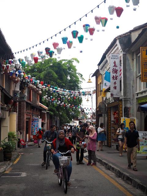 Armenian Street, Penang, Malaysia