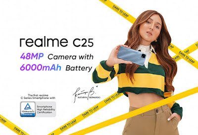 realme PH sets a new standard of reliability with the realme C25, initially available exclusively on Shopee