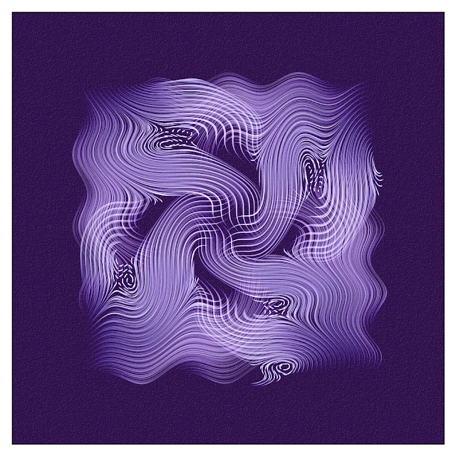 An interesting shape with symmetrical Vector Field drawing.