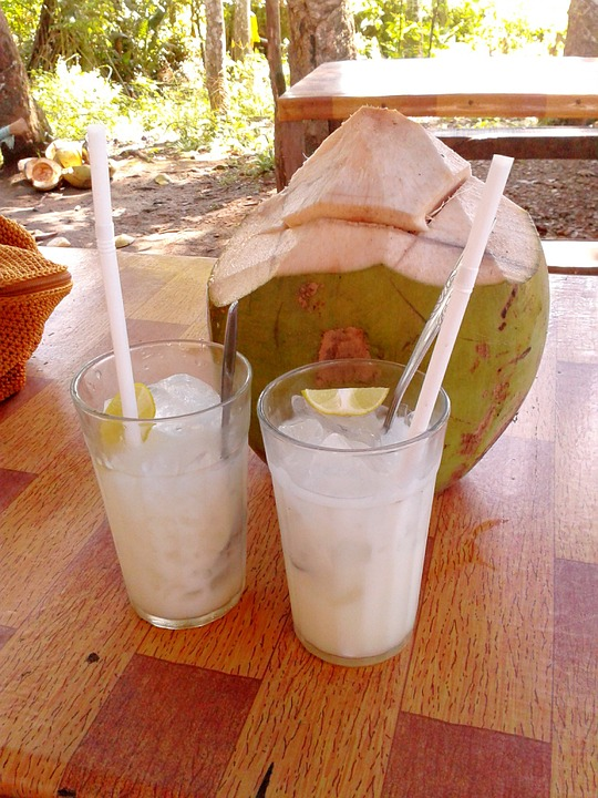 Coconut water improves the eyesight and immunity system