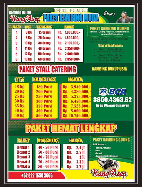 Harga Paket Kambing Guling di Bandung,kambing guling bandung,harga kambing guling bandung