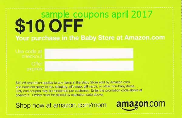 Amazon.ca coupon april 2018