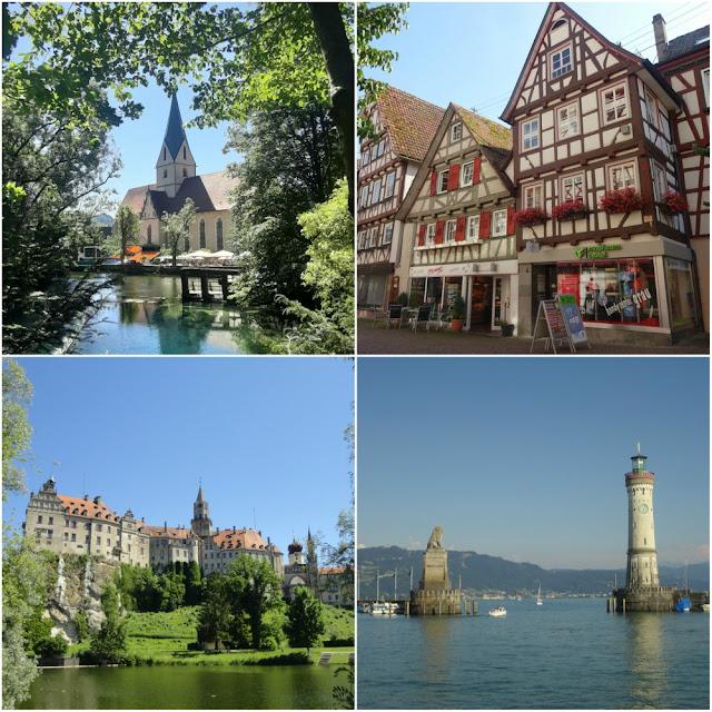 3 meses na Alemanha, República Tcheca e Polônia - Blautopf, Calw, Lindau e Schloss Sigmaringen