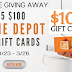 Win a $100 Home Depot Card!! - 5 Winners Win $100 Each. Limit One Entry, Ends 3/26/20. Very Short Entry Period!!