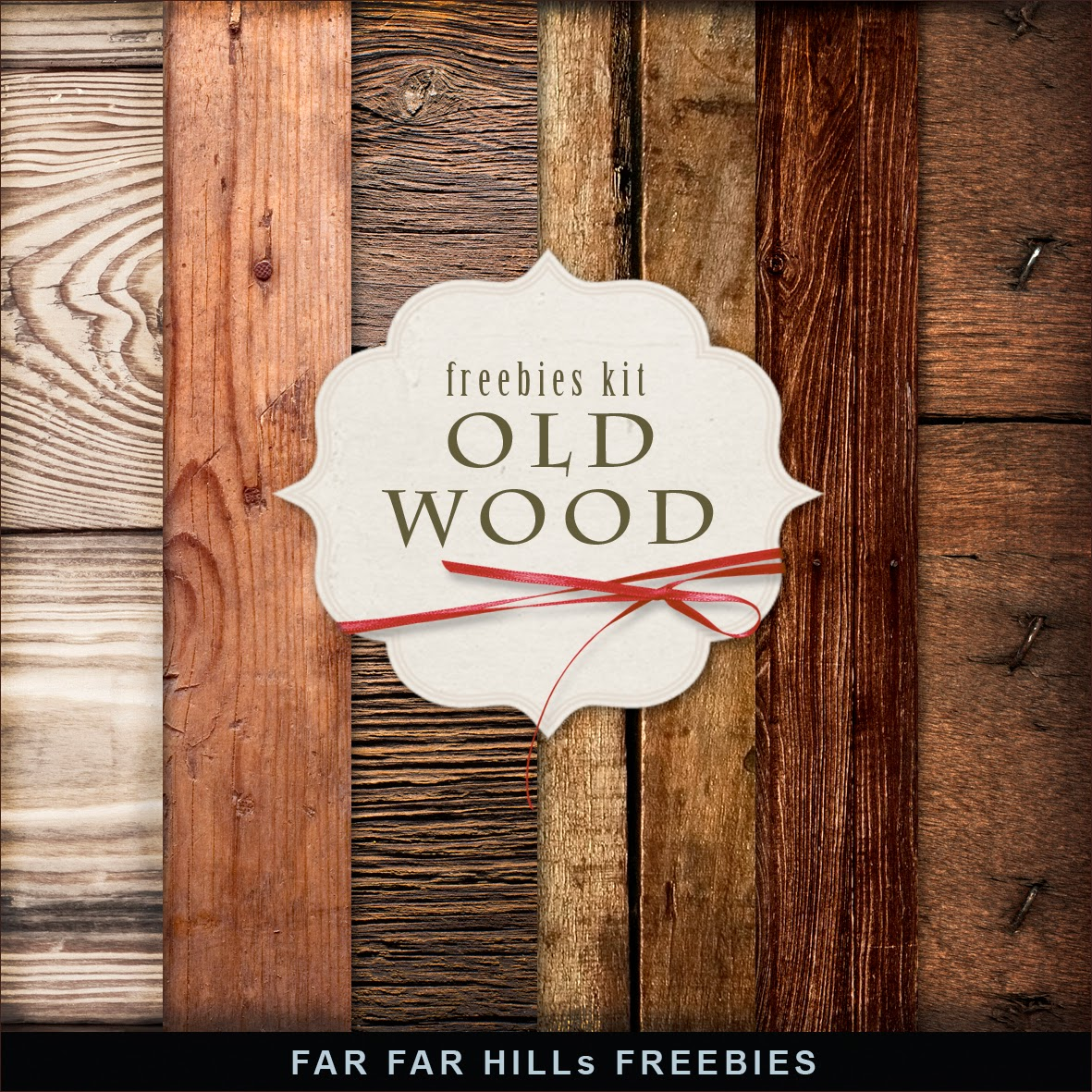 Freebies Kit of Backgrounds - Old Wood.